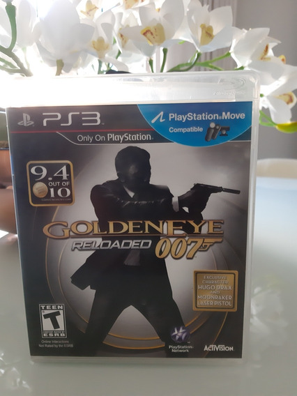 Goldeneye Reloded 007 Ps3 Midia Fisica