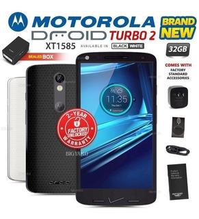 Nueva Fábrica Desbloqueado Motorola Droid Turbo 2 Xt1585 Neg