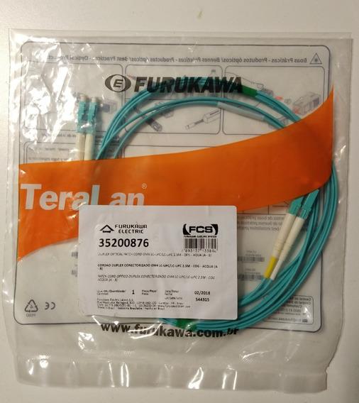 Patch Cord Fibra Optica Furukawa Om4 Lc Upc / Lc Upc 2.5 Mt