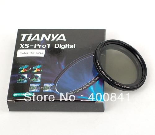 Filtro Densidad Neutra Nd Variable Nd2 Nd400 Tianya Pro 62mm