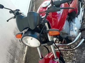 Cg Titan Esd 150 Vermelha