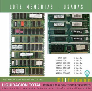 Memorias Pc - Lote 13 Unidades