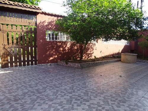Casa Espaçosa Excelente Bairro!!! Agenor De Campos, Mongaguá. - Ca0495
