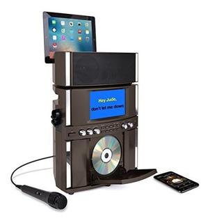 Akai Ks800-bt Bluetooth Carga Frontal Cd Y G Karaoke, Negro