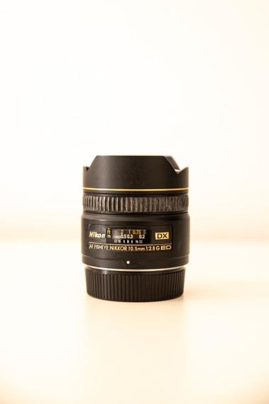 Lente 10.5mm Nikon F2.8 Dx - Fisheye