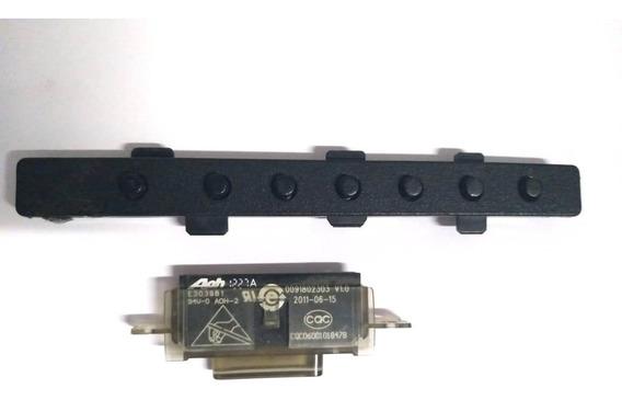 Botão Power + Sensor Da Tv Buster Hbtv-32l07hd