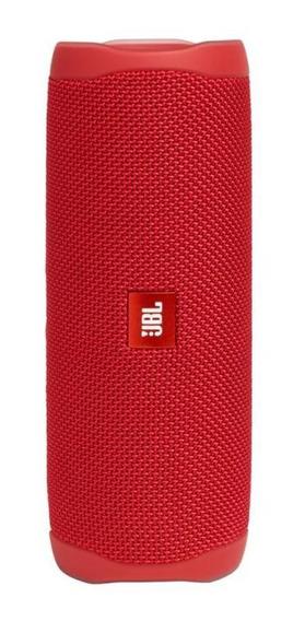 Caixa De Som Portátil Jbl Flip 5 - 20w Rms - Vermelho
