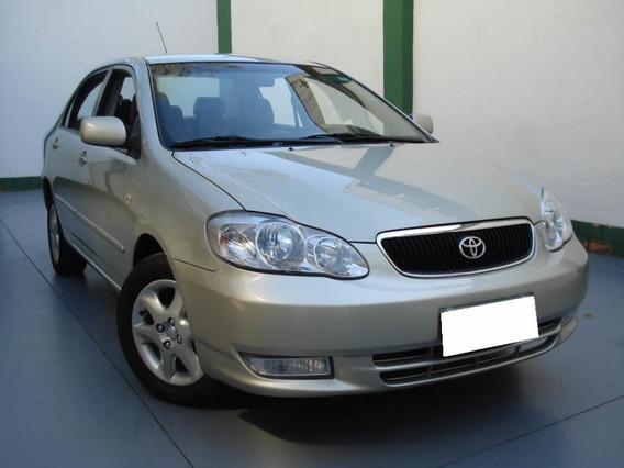 Toyota Corolla 1.8 Se-g 16v Gasolina 2004 Bege.