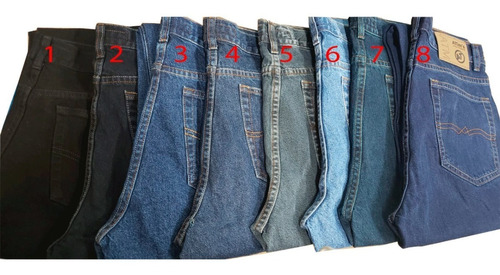 Pantalon Jeans Clasico Para Hombres Tallas 26 Al 38 Colres Mercado Libre