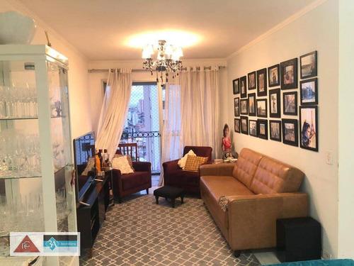 Imagem 1 de 14 de Apartamento Com 3 Dormitórios À Venda, 72 M² Por R$ 445.000,00 - Jardim Anália Franco - São Paulo/sp - Ap5886