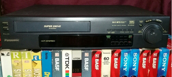 Video Cassete Panasonic Nv-hd100br Hi-fi Mts Stereo