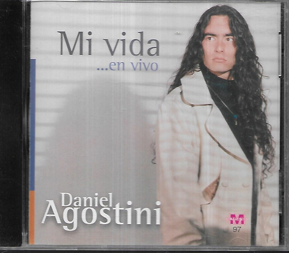 Daniel Agostini Album Mi Vida En Vivo Sello Magenta Cd
