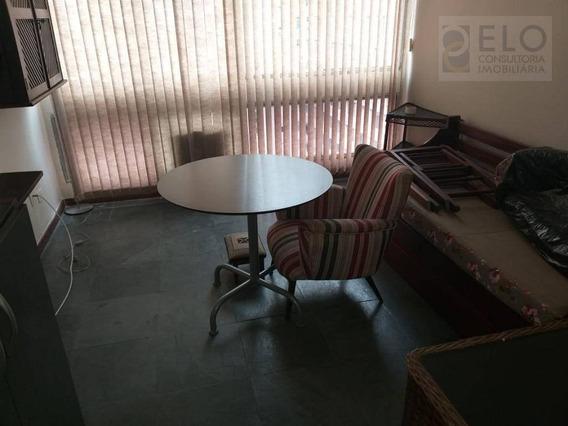 Kitnet Com 1 Dormitório Para Alugar, 20 M² Por R$ 1.500/mês - Boqueirão - Santos/sp - Kn0067