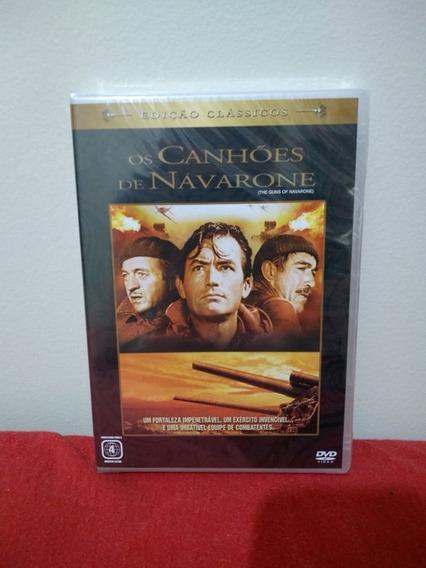 Os Canhões De Navarone - Dvd Original Lacrado