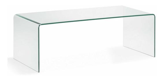Mesa Centro Cristal Templado Modelo Fattori By Promobel