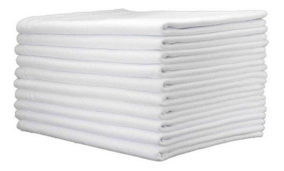 50 Saco Alvejado Pano Chão Branco P/ Limpeza Preço Atacado