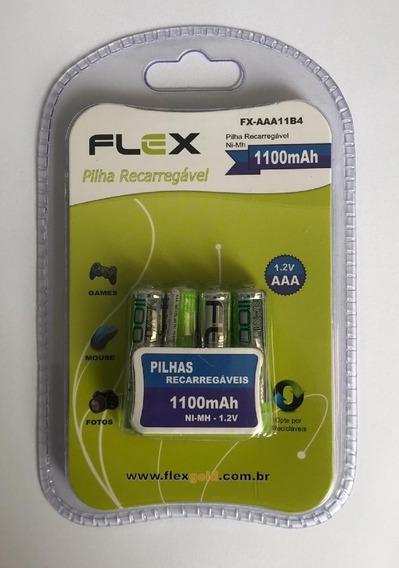 Pilha Recarregável - Fx-aaa11b4 - Marca: X-cell - Ds Tools