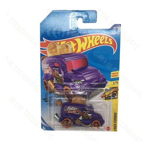 Carro Colección Hotwheels Fast Foodie Piezas Roller Toaster