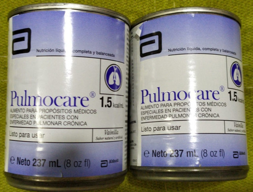 Pulmocare 237ml 24 Unidades - L a $1310