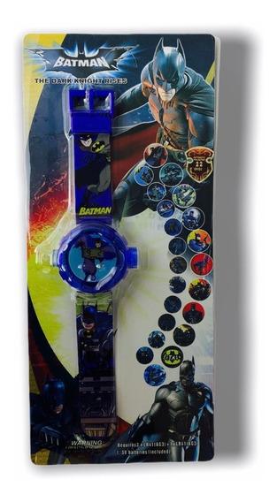 Relógio Infantil Batman Projetor - Promoção