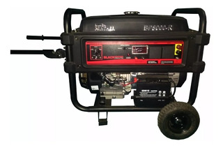 Grupo Electrogeno Black Panther 6500 W Con Transf Automatica