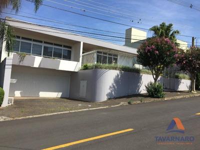 Casa Com 4 Dormitórios À Venda, 402 M² Por R$ 1.300.000 - Estrela - Ponta Grossa/pr - Ca0552