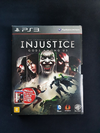 Injustice Gods Among Us + Filme Ps3
