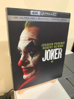 Pelicula Joker Guason Blu Ray 4k+blu Ray+digital Nueva Sella