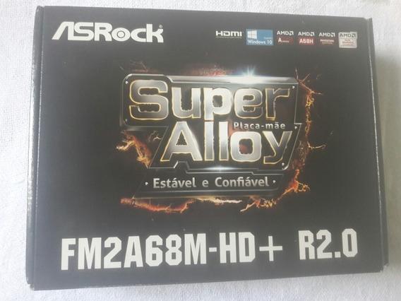 Placa Mae Super Alloy Fm2a68h -hd +r2.0