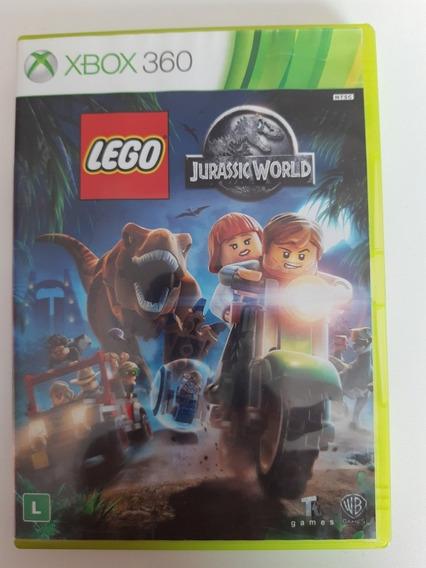 Lego Jurassic World Xbox 360 Original Mídia Física Português