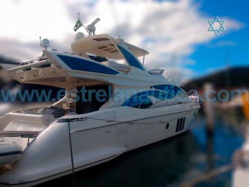 Lancha Azimut 60 Barco Iate N Ferreti Intermarine Excalibur