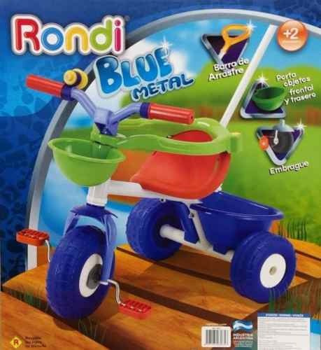 Triciclo Blue Metal De Rondi