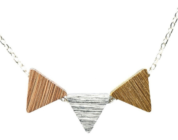 Luckyly Collares De Bisuteria Ariane Con Dijes Triangulares