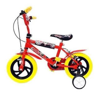 Bicicleta Halley Rodado 12 Varón 19000 Ruedas Plásticas