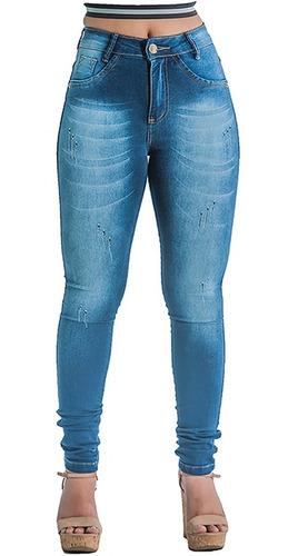 8096492c9 Calças para Femininas Jean Violeta-escuro com o Melhores Preços no ...