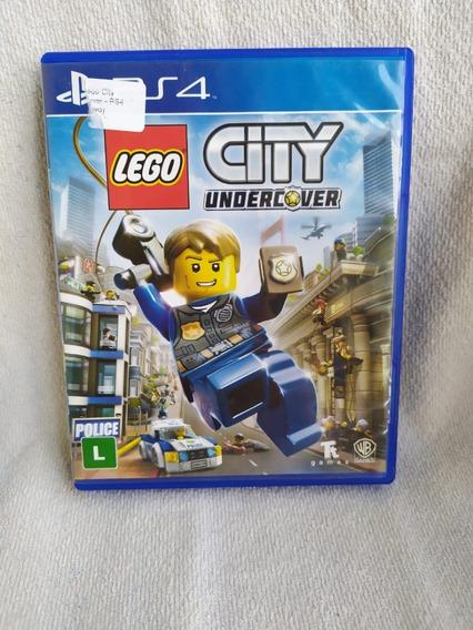Lego City Undercover Ps4 - Mídia Física