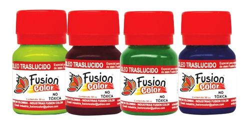 Imagen 1 de 3 de 12 Oleos Traslucido X 30 Cc Fusion Color