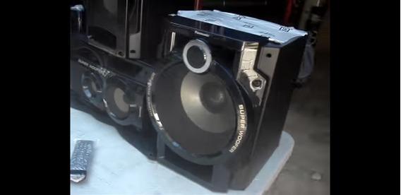 Subwoofer Panasonic Akx92 Alto Falante 10 Polegadas 8ohms