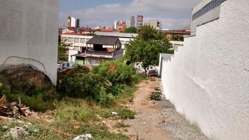 Terreno  Para Locação, Tatuapé, São Paulo. - Af12055