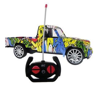 Camioneta Carrera Radio Contro 1:20 4 Canales Diseño Hiphop