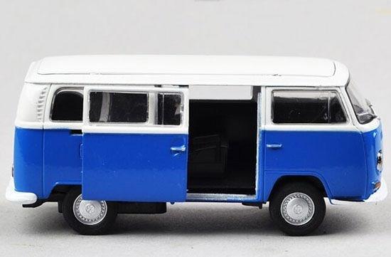 Miniatura Volkswagen 1972 T2 Bus Welly Escala 1/18