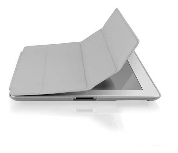 Case E Suporte Double Smart Cover Magnetica Para iPad 2/3