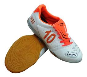 Tênis Futsal Couro - Personalização Um Nome Grátis
