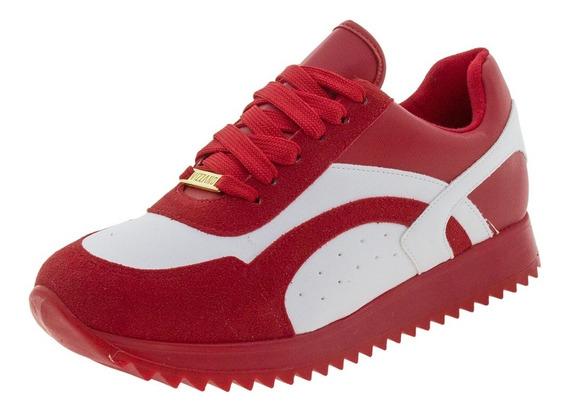 Tênis Feminino Branco/vermelho Vizzano - 1234226