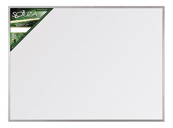 Quadro Branco Standard 90x60 Cm Moldura De Alumínio Pop 5603