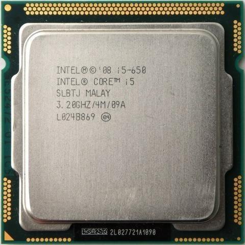 Processador Intel Core I5 650 3,20 Ghz Cache 4mb Lga 1156