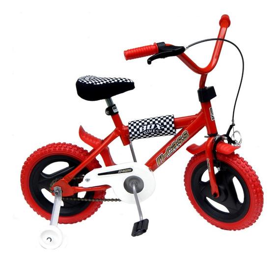 Bicicleta Rodado 12 Full Ref. R12 Protecciones Acolchadas