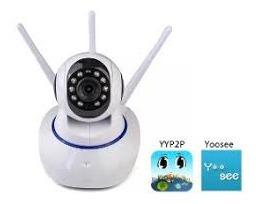 Câmera Por Ip Hd 3 Antenas P2p Onvif Original Yoosee