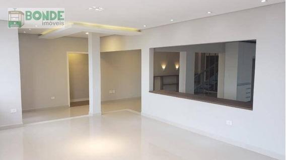 Cobertura Com 4 Dormitórios À Venda, Vista Mar,, 460 M² Por R$ 1.950.000 - Gonzaga - Santos/sp - Co0004