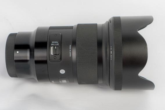 Lente Sigma 50mm 1.4 Art Sony Full Frame A7 A7r A7s A9